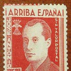 Sellos: ARRIBA ESPAÑA.JOSE ANTONIO. SIN VALOR POSTAL, 1 PTA. Lote 20541948
