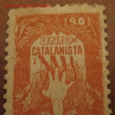 Sellos: UNIÓ CATALANISTA 1901. Lote 27452511