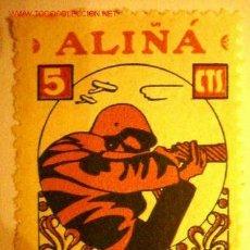 Sellos: ALIÑÁ PRO GUERRA 5 CTS. REPUBLICA. Lote 2199646