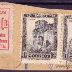 Sellos: ESPAÑA. (CAT. 673, LOCAL 8). FRANQUEO. 5 CTS. COMITE POPULAR ALICANTE Y SELLO. MAGNÍFICO.. Lote 23141497