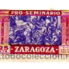 Sellos: PRO-SEMINARIO ZARAGOZA - 25 CENTIMOS - SIN USAR. Lote 9631484