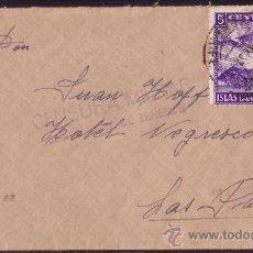 Sellos: ESPAÑA.1937.SOBRE DE STA. CRUZ A LAS PALMAS.30 CTS. Y LOCAL.MARCA CENSURA MILITAR.MUY BONITA.. Lote 24289717