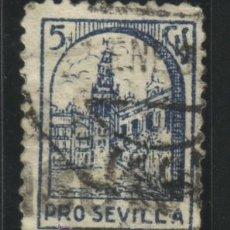 Sellos: S-1127- SEVILLA. PRO SEVILLA. Lote 27247389