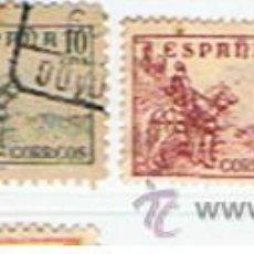 Sellos: SELLOS ESPAÑA ** EDIFIL Nº 816 I, 817,818,819, CID. 1937.USADOS.. Lote 11091250