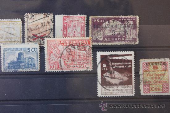 Sellos: Lote de 68 Viñetas Diferentes Municipios - Foto 5 - 11762442