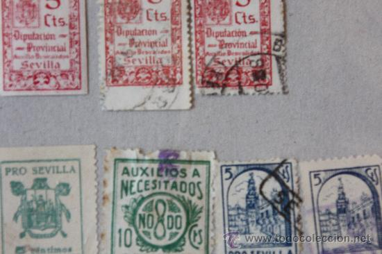 Sellos: Lote de 68 Viñetas Diferentes Municipios - Foto 7 - 11762442