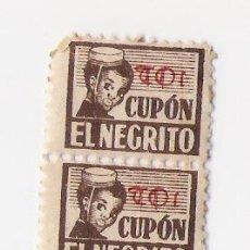 Sellos: CUPON **EL NEGRITO** . Lote 12931088