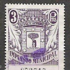 Sellos: 120-FISCAL IMPUESTO MUNICIPAL MADRID 3 PESETAS. Lote 13140595