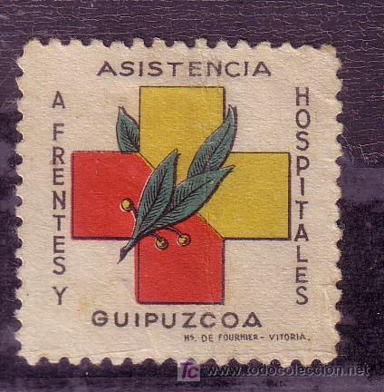 FRENTE Y HOSPITALES.- Nº 5 MATASELLADO (Sellos - España - Guerra Civil - Beneficencia)