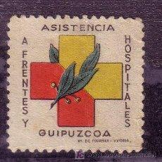 Sellos: FRENTE Y HOSPITALES.- Nº 5 MATASELLADO . Lote 13793332