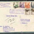 Sellos: CARTA, REVERSO TIPO POSTAL ,1938 SANTANDER A SUIZA . Lote 26872343
