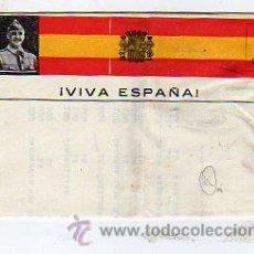 Sellos: CARTA FRANCO. VIVA ESPAÑA. EJERCITO NACIONAL. GUERRA CIVIL. . Lote 24317340