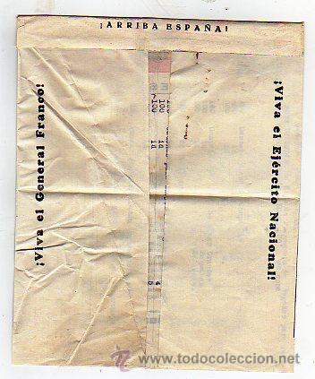Sellos: Carta Franco. Viva España. Ejercito nacional. Guerra civil. - Foto 3 - 24317340