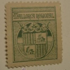 Sellos: VIÑETA MALLORCA REGIONAL. Lote 15074535
