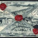Sellos: CARTA REVERSO TIPO POSTAL 1938 SANTANDER A SUIZA, SEGUNDO AÑO TRIUNFAL VIVA FRANCO, SELLOS DE LACRE. Lote 27506865