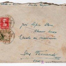 Sellos: CENCURA MILITAR DE TARIFA. Lote 15863811