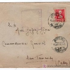 Sellos: CENCURA MILITAR DE JEREZ DE LA FRONTERA. Lote 15863823