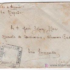 Sellos: CENSURA MILITAR DE JEREZ DE LA FRONTERA. Lote 15863925