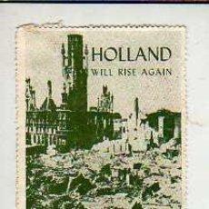 Selos: VIÑETA -HOLANDA - AÑOS 60 APROXMTE -WILL RISE AGAIN. Lote 16926948