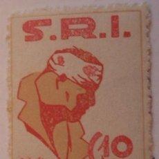 Sellos: VIÑETA SRI, PRO SANITAT, 10 CTS. REPÚBLICA. Lote 17173820