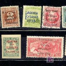Stamps - 12 sellos locales patrióticos diferentes. Nuevos y usados. - 25114484