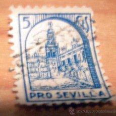 Sellos: SELLO BENEFICO DE PRO SEVILLA. Lote 17592894