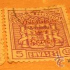 Sellos: LOTE DE 3 SELLOS HABILITAOS PARA CORREOS. Lote 17593028