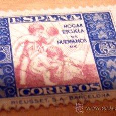 Sellos: SELLO HUERFANOS DE CORREOS. Lote 17593065