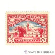Sellos: MUY BONITO SELLO DE 5 CÉNTIMOS COCINAS ECONÓMICAS AYAMONTE HUELVA A CLASIFICAR. Lote 22968388