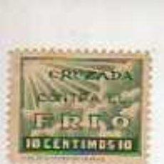 Sellos: VIÑETA CRUZADA CONTRA EL FRIO- GUERRA CIVIL ESPAÑOLA. Lote 277621058