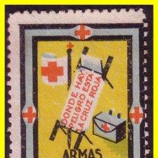 Sellos: GUERRA CIVIL, CRUZ ROJA ESPAÑOLA, GUILLAMON Nº 1635 (*). Lote 19252565