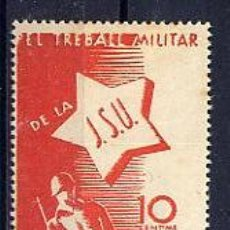 Sellos: ESPAÑA GUERRA CIVIL. 4 VIÑETAS REPUBLICANAS. ** Y ***. Lote 27132998