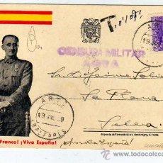 Sellos: CENSURA MILITAR. ARTA BALEARES. 19-7-1939. GUERRA. CIVIL. FRANCO.. Lote 19519148
