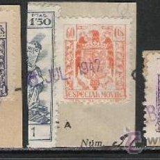 Sellos: 648-SELLOS FISCALES ESPECIAL MOVIL FRANCO 1939,PIE IMPRENTA FCA.NAL MONEDA Y TIMBRE. 30,00€ EDIFIL. Lote 19580854