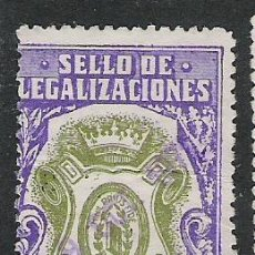 Sellos: 651-SELLO FISCAL COLEGIO NOTARILA LEGALIZACIONES LEGITIMACIONES 12,50 PESETAS. Lote 19581740