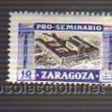 Francobolli: VIÑETA PRO-SEMINARIO ZARAGOZA 10 CTMS. Lote 20363251