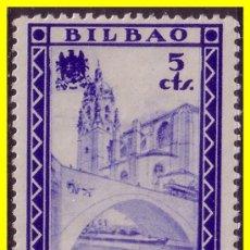 Sellos: VIZCAYA BILBAO, GUERRA CIVIL, FESOFI Nº 24 *. Lote 20372047