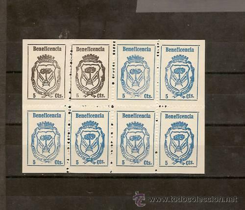 GUERRA CIVIL, MANZANILLA GALVEZ 443H AÑO 1937 BENEFICENCIA , EMISIÓN LOCAL PATRIÓTICA (Sellos - España - Guerra Civil - Locales - Usados)