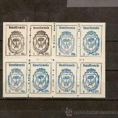 Sellos: GUERRA CIVIL, MANZANILLA GALVEZ 443H AÑO 1937 BENEFICENCIA , EMISIÓN LOCAL PATRIÓTICA . Lote 27430883