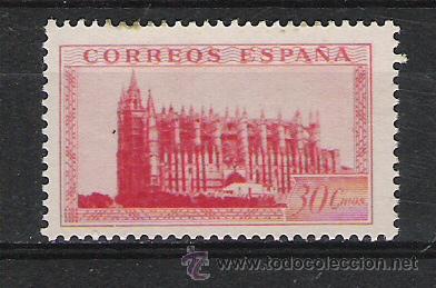 ESPAÑA ESTADO ESPAÑOL Nº 847 SELLO DE HOJA BLOQUE (Sellos - España - Guerra Civil - De 1.936 a 1.939 - Usados)