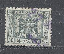 ESPAÑA, - EDIFIL ? TELEGRAFOS (Sellos - España - Guerra Civil - Locales - Usados)