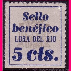 Briefmarken - Sevilla LORA DEL RÍO, Guerra Civil, FESOFI nº 1 * * - 21972226
