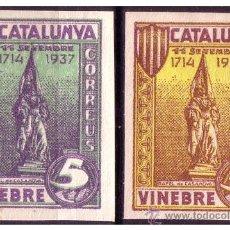 Selos: TARRAGONA VINEBRE GUERRA CIVIL, FESOFI Nº SH25S Y SH26S *. Lote 22131952