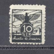 GUERRA CIVIL- AUXILIO DE INVIERNO (Sellos - España - Guerra Civil - De 1.936 a 1.939 - Usados)
