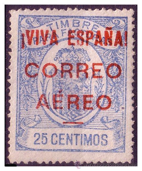 ELP BURGOS 1936 SELLOS FISCALES SOBRECARGADOS, EDIFIL Nº 55 * * (Sellos - España - Guerra Civil - Locales - Nuevos)