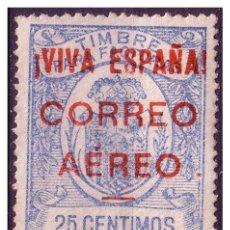 Sellos: ELP BURGOS 1936 SELLOS FISCALES SOBRECARGADOS, EDIFIL Nº 55 * *. Lote 22265439
