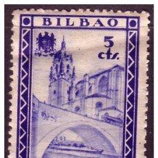 Sellos: VIZCAYA, GUERRA CIVIL, FESOFI Nº 24 * *. Lote 22298401