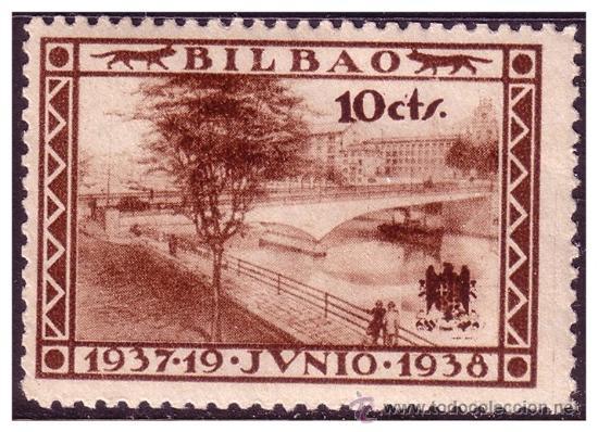 VIZCAYA, GUERRA CIVIL, FESOFI Nº 18 * * (Sellos - España - Guerra Civil - Locales - Nuevos)