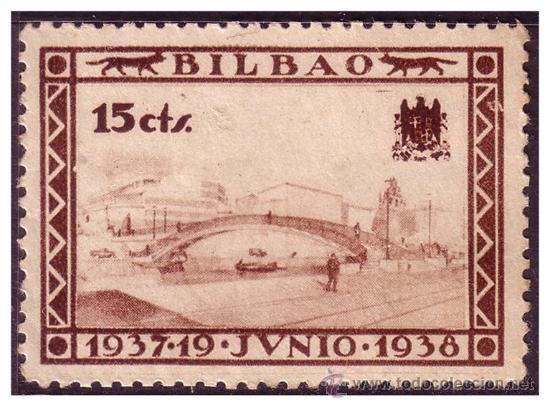 VIZCAYA, GUERRA CIVIL, FESOFI Nº 19 * (Sellos - España - Guerra Civil - Locales - Nuevos)