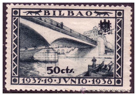 VIZCAYA, GUERRA CIVIL, FESOFI Nº 14 * (Sellos - España - Guerra Civil - Locales - Nuevos)